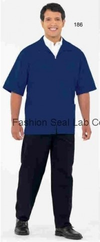 189: 186: 195:  Fashion Seal Unisex Zip Front Casual Shirts - Product Image