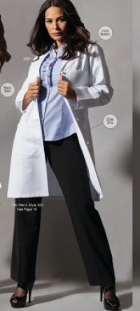 3301 Fashion Seal Ladies Lab Coats - Product Image