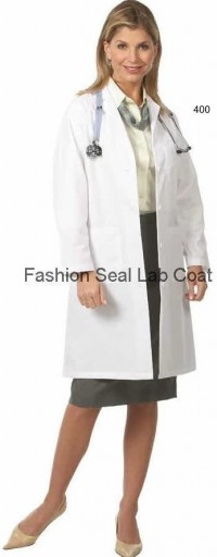 400 Fashion Seal Ladies Traditional Length Lab Coats - Product Image