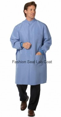 6401 : 6402 Fashion Seal Unisex Protective Coats with Snap Closure at Neck - Product Image