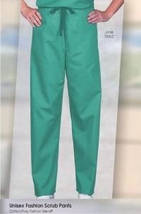 Unisex Fashion Drawcord Scrub Pants - FB - Product Image